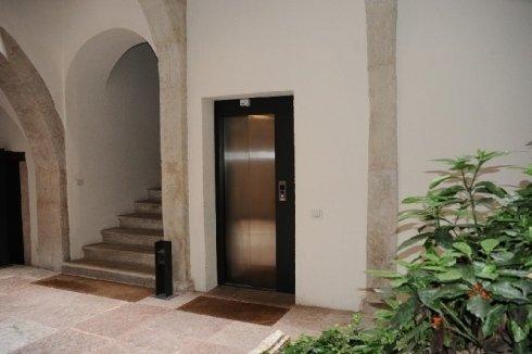 ascensore piano terra