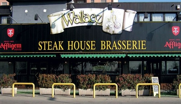 insegna per steak house