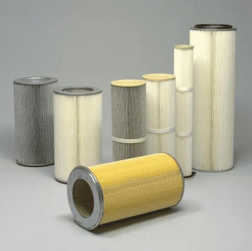 cartucce depolverazione, cartucce filtranti depolverazione, cartucce industriali