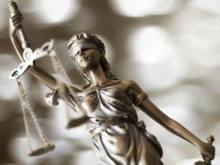 scultura giustizia