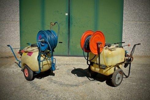 Motopomper per diserbi e disinfezioni di aree di dimensioni ridotte