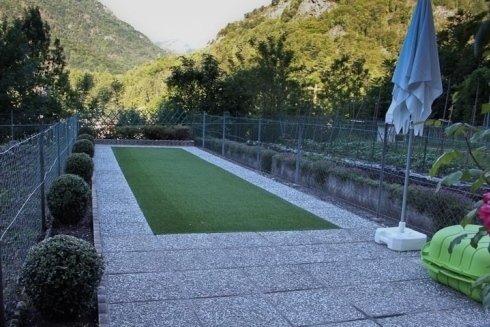 tappeti erbosi di piccole e grandi dimensioni