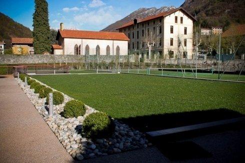 gestione aree verdi per impianti sportivi