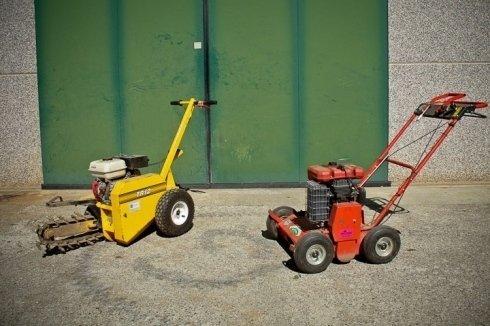 Catenaria per scavi irrigazione - Arieggiatore