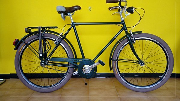 Bicicletta di Paseo de uomo stile anni cinquanta o sessanta