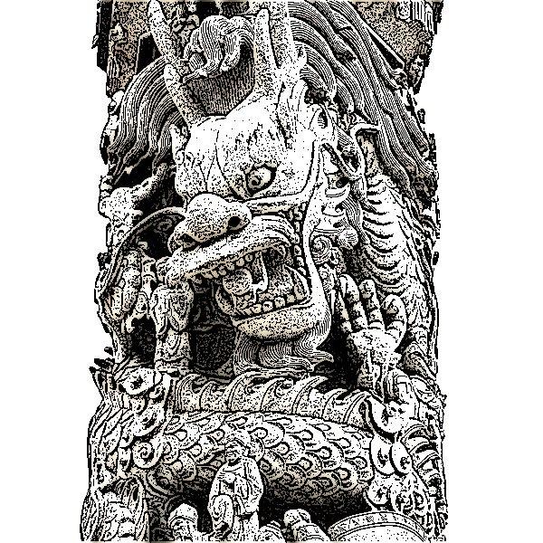 The Dragon Pillar, Master of Horror