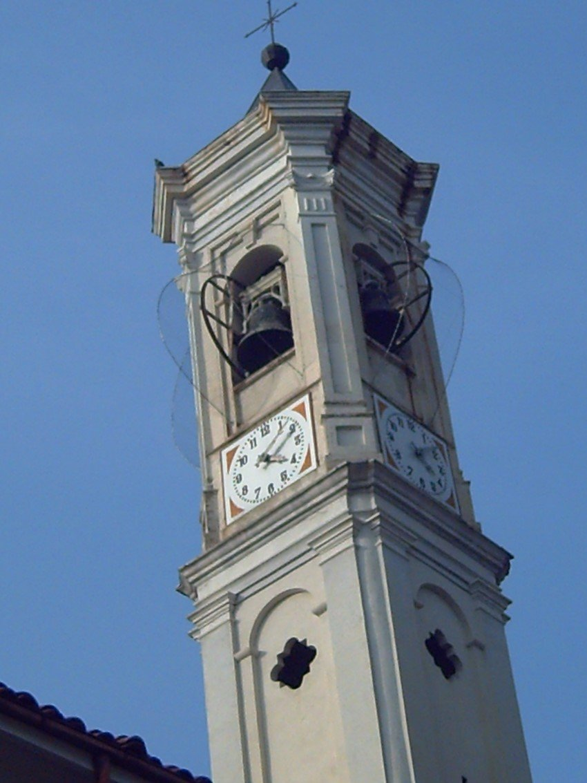rete antintrusione per piccioni e volatili su campanile