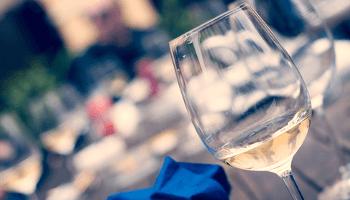 bicchiere, vino, dehor