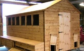 Quality built animal shelters