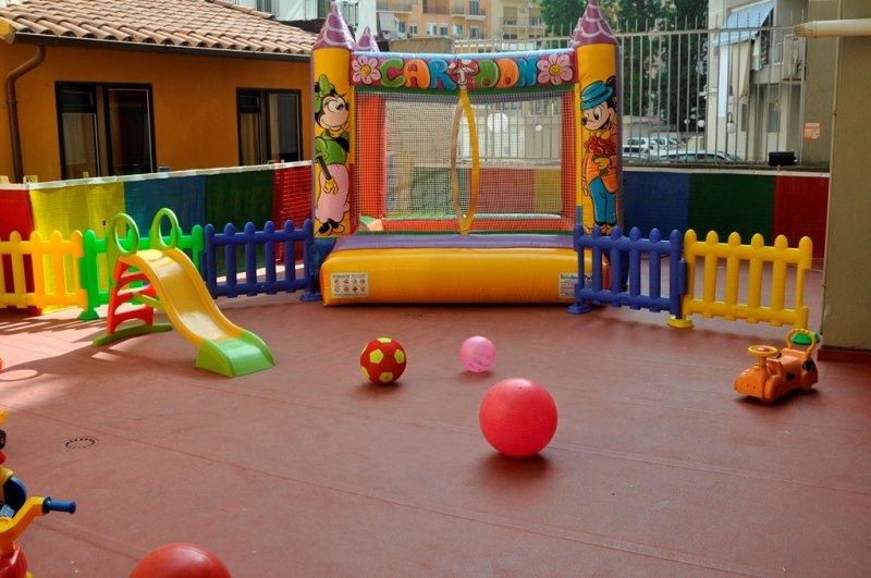 spazio gioco esterno