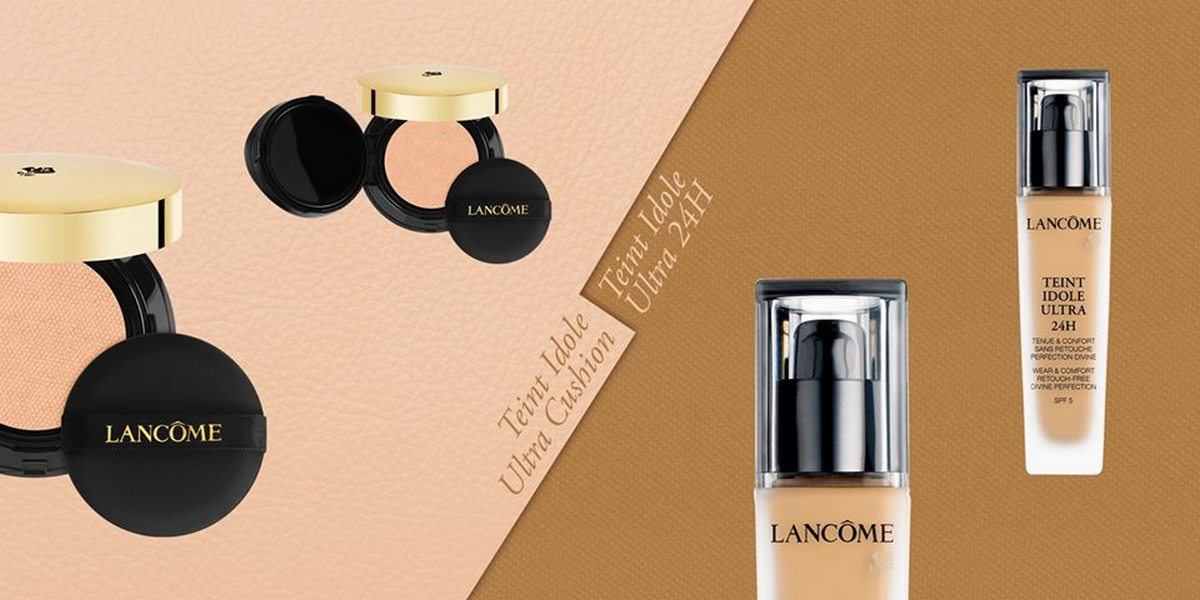 NEW YORK, NY, USA -- Lancôme's dynamic team of ten makeup artists worked