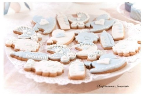 Biscotti per baby shower