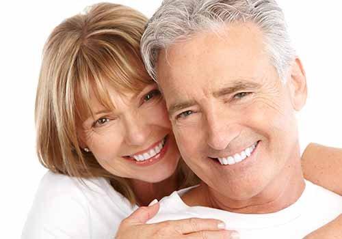 coppia sorridente