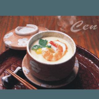 Don uova e gamberoni