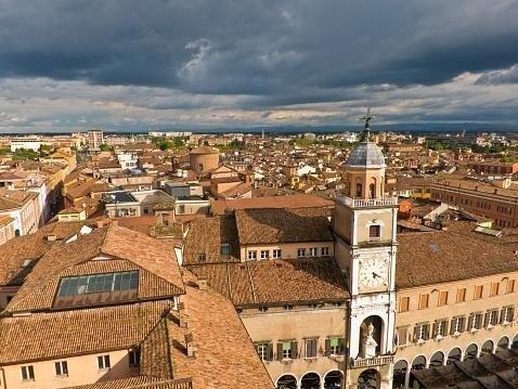 vista panoramica Modena