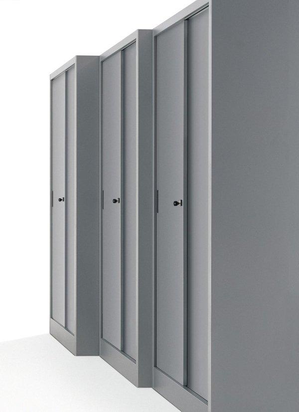 Archiviazione e mobili metallici milano cograrredo srl for Mobili metallici