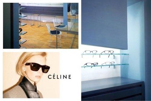 pubblicità  occhiali di CELINE`