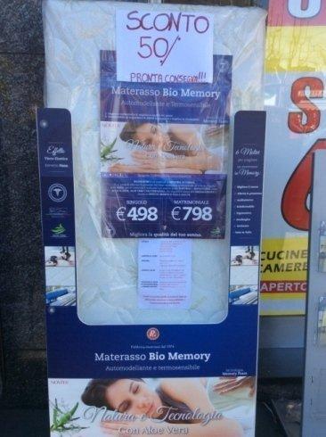 Sconto Materasso Bio Memory
