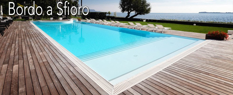 piscine bordo a sfioro