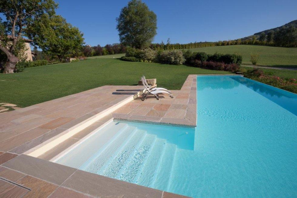 piscine a cascata