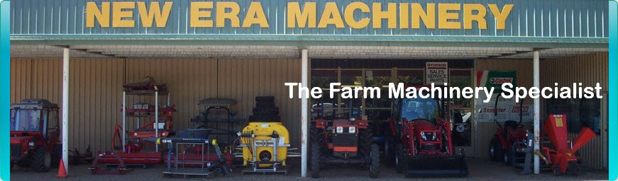 Wide range of farm machine at New Era Machinery