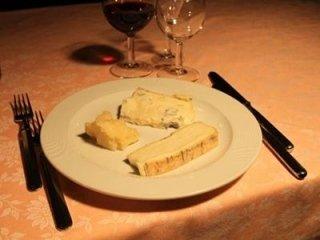 Tris di formaggi nostrani