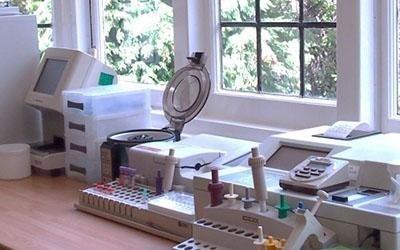 Laboratorio per analisi veterinarie