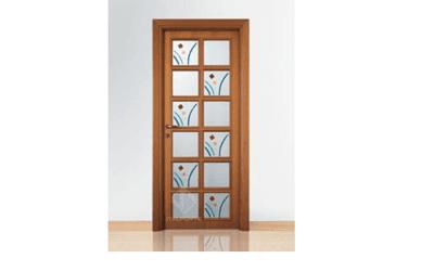 porta interni a vetri linea classica