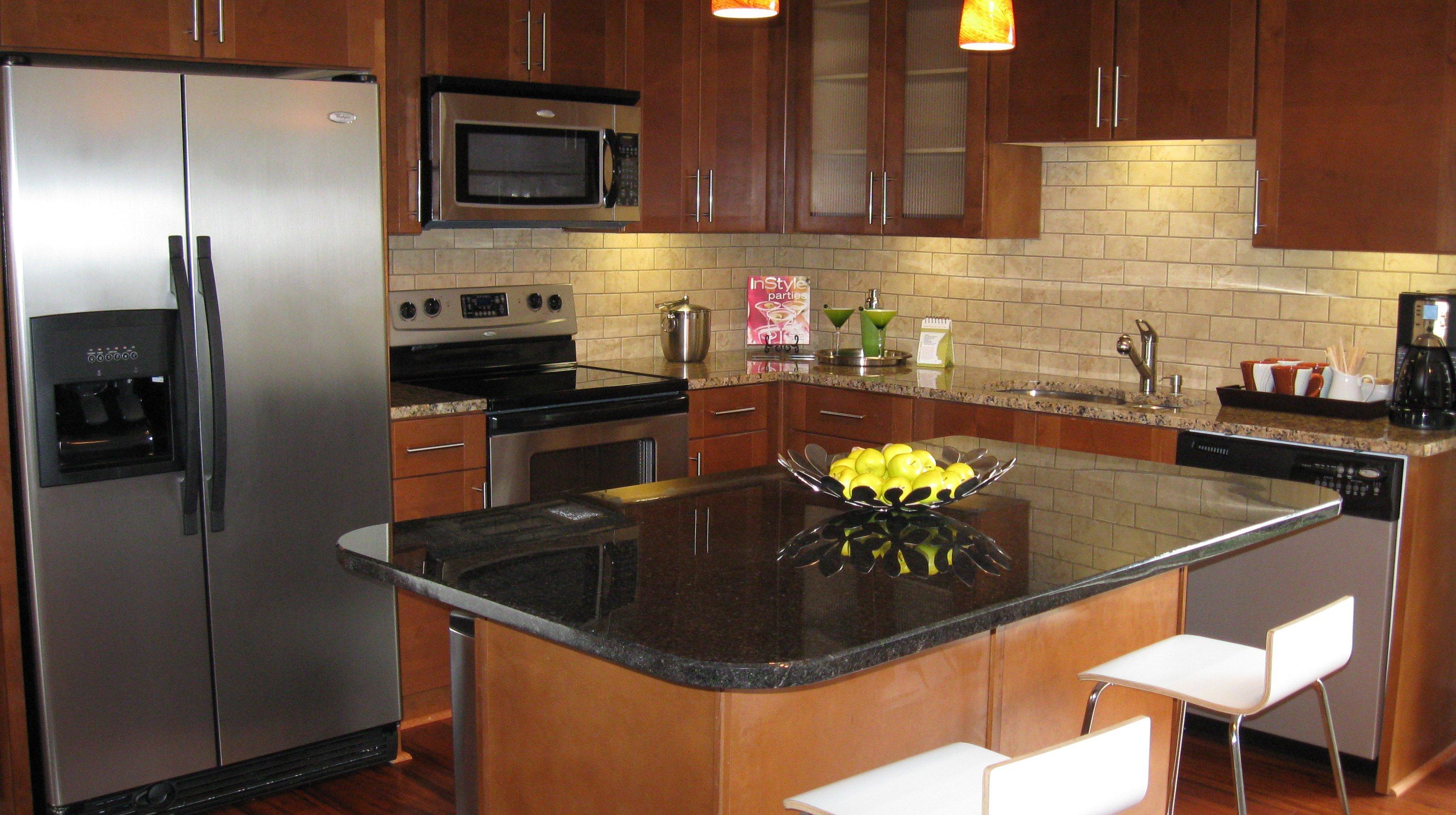 apartment interior - kitchen - San Antonio TX