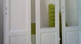 verniciatura porte, verniciatura finestre, restauro legno, laccatura e lucidatura mobili in legno e altri materiali,
