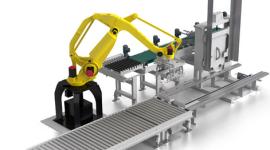 bracci robotizzati, progetti tridimensionali, progetto catena di produzione