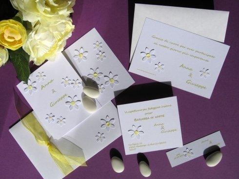 Partecipazioni artigianali per Matrimoni