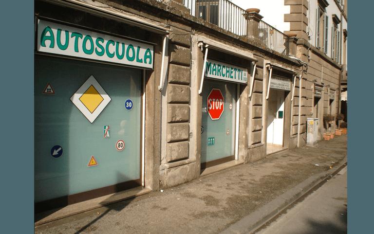 Foto entrata agenzia Autoscuola Marchetti