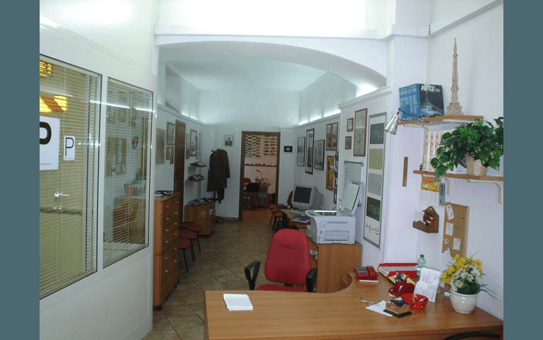 Foto sala interna agenzia Autoscuola Marchetti