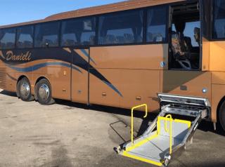 Pullman  pedana disabili