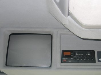 MERCEDES404 interior