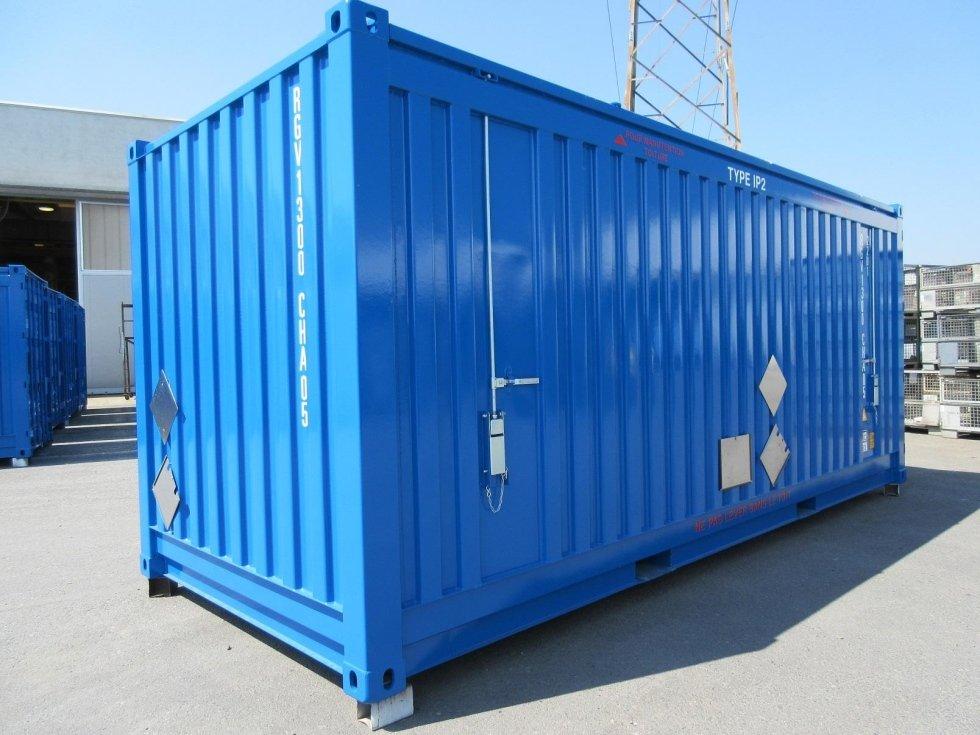 Container Radioattivo IP1 IP2 Bergamo