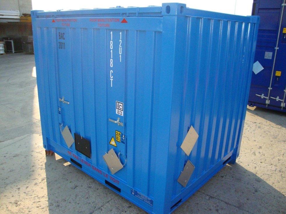 20 to 40 accommodation capacity containers - Bergamo - C C F C