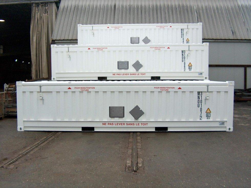 Container Radioattivo IP1 IP2