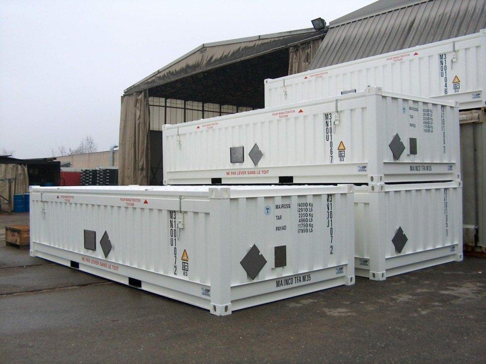 Container Radioattivo IP1 IP2 a Bergamo
