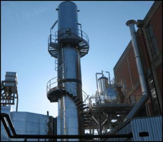 Impianto in acciaio inox