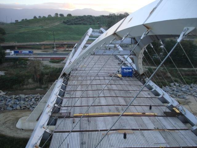 Controlli strutturali cavalcavia autostrada Toscana