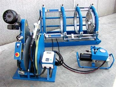 attrezzatura per saldatura materie plastiche