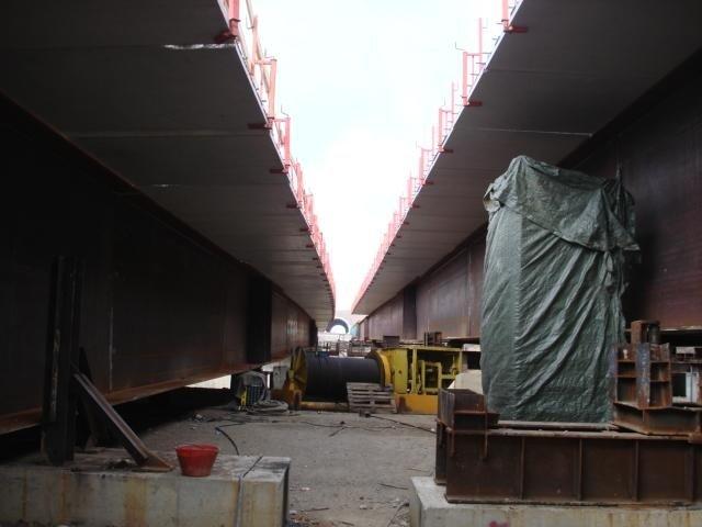 Controlli saldature ponte superstrada Grosseto-Siena