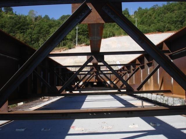 Controlli saldature ponte a parete piena