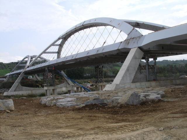 Controlli strutturali ponte autostradale