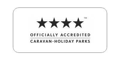 sarena sapphire caravan park official accredited logo