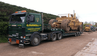 Low loader hire