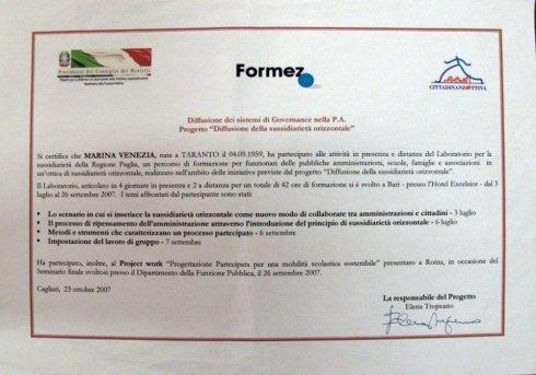 Laboratorio per la sussidiarietà della Regione Puglia