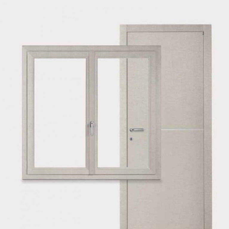 Porte e finestre in alluminio-Serramenti dinamici